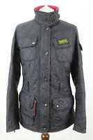 BARBOUR International Black Quilted Jacket size Uk 10