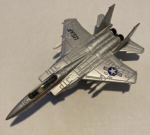 Vintage ERTL Air Force One USAF F-15 Eagle DIE CAST Fighter 1986 -B11