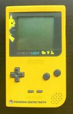 Game Boy Light Console Pikachu Edition Pokemon Center