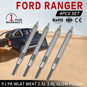 4PCS Durable Glow Plugs For FORD RANGER PJ PK WLAT WEAT 2.5L 3.0L Diesel