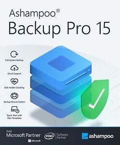 Ashampoo Backup Pro 15 - Sicherung und Wiederherstellung
