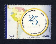 PERU 2083 ** Wirtschaftliche Zusammenarbeit LANDKARTE Südamerika Aufl. 50.000 !!