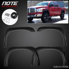 Fit For 02 08 Ram 1500 2003 2009 Ram 2500 3500 Pocket Rivet Style Fender Flares Fits More Than One Vehicle