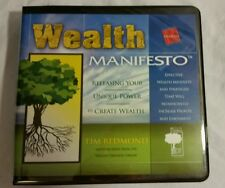 Wealth Manifesto 8 CD  set  by Tim Redmond from the Wealth Creation Library