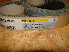 Hermes Schleifband 5 Stück  RB 515 X    P 400   50x2500mm
