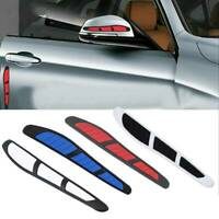 4X Car Door Edge Guard Strip Scratch Protector Anti-collision Trim Decal Sticker