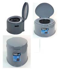 5l Portable Toilet Compact Potty Loo Camping Caravan Picnic Potty Training