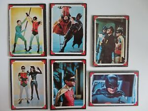 1966 A&BC lot Batman Riddler back RARE printed in England with Dutch backs !
