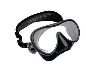 Oceanic Shadow Mask Scuba Snorkeling Diving Freedive Black 05.4000.27