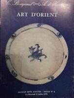 1979 Catálogo De Venta Demuestra Drouot Art Oriental