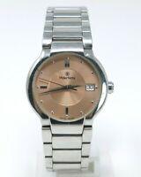 Orologio wyler vetta b3186w swiss watch all stainless steel clock elegant reloy