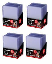 100 x Ultra PRO 55pt SUPER THICK Toploaders Toploader Loader Loaders 4 x 25ct