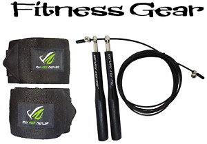 CrossFit Hand Grip Guards Wrist Support Wraps Adjustable Jump Rope Fitness Gear