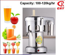 NEW COMMERCIAL VEGETABLE JUICE EXTRACTOR HEAVY DUTY STAINLESS STEEL 550W WTY