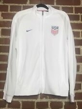 3839f297e4b Nike Men s USA Soccer Performance Jacket White 739590-100 Size L