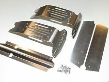 YY TRAXXAS X-MAXX 6S 8S TRUCK STAINLESS STEEL SKID PLATES BUMPER PROTECTOR SET
