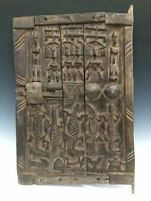 AFRICAN ART DOGON GRANARY DOOR FROM MALI