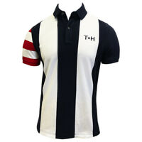 NWT TOMMY HILFIGER AUTHENTIC MEN'S NAVY BLUE SHORT SLEEVE POLO SHIRT SIZE XL