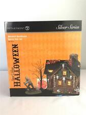 * Department 56 Haunted Huntsman Lighted House Box Set Snow Village Halloween