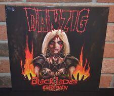 DANZIG - Black Laden Crown. Limited NEON ORANGE VINYL LP Gatefold New & Sealed
