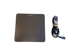 Logitech T650 Wireless Rechargeable Touch Pad with Charging Cord Tested Working