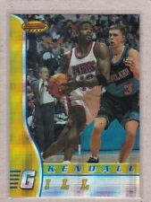 1996 Bowman's Best Basketball - Atomic Refractor - #13 Kendall Gill - NM/MT