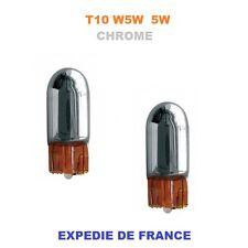 AMPOULES T10 W5W CHROME DACIA DUSTER 5W 12V NEUF