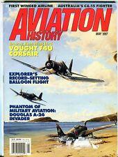 Aviation History Magazine May 1997 Vought F4U Corsair EX No ML 111916jhe