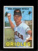 1967 TOPPS #38 BOB JOHNSON EXMT ORIOLES (WAX) NICELY CENTERED  *XR11031