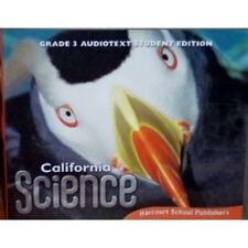 3RD GRADE 3 HARCOURT CALIFORNIA SCIENCE AUDIO TEXT STUDENT EDITION CD ROM