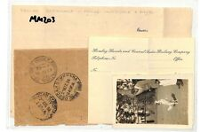 MM203 1936 inde gb poona police inspector et photo couverture {samwells couvre -} pts