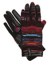 Isotoner SmarTouch Black Laser Multicolor Gloves - One Size - MSRP $44
