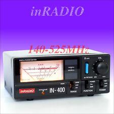 INRADIO IN-400 SWR / Wattmeter VHF UHF 140-525 MHz IN400 SWR METER