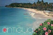 Darkwood Beach, Antigua, West Indies, Caribbean, Palm Trees, Paradise - Postcard