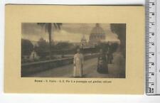 Lazio - Roma S. Pietro S. S. Pio a passeggio - RM 9437