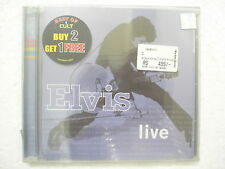 Elvis Presley Live CD 2010 see rider my way RARE INDIA HOLOGRAM NEW sticker