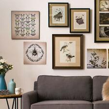 Framed Birds 2 Wall Art - Vintage Style. - RRP £136.49