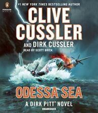 ODESSA SEA (A Dirk Pitt Novel) unabridged audio book CD CLIVE CUSSLER  Brand New