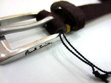 Paul Smith Clásico Suit Cinturón en Ciruela Damascena tamaño S PVP 165