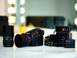 Phase One P30+, Mamiya 645DF+, 80mm f2.8 LS, 75-150mm f4.5