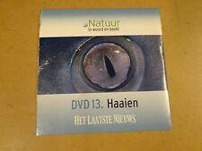 DVD HET LAATSTE NIEUWS / NATUUR IN WOORD EN BEELD - DVD 13 - HAAIEN