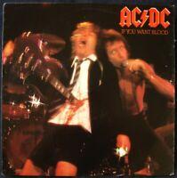 "AC/DC ""If You Want Blood You've Got It"" 1978 ♫ Vinyl LP Record Album (NM)"