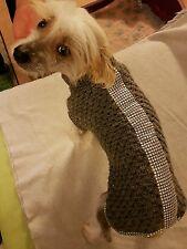 Hunde Mantel♥Jacke♥Häkeln♥Chihuahua♥ Yorgi♥Nackthund♥35 cm
