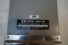 ICOM AH-2 Antenna Tuner: SSB/HF