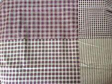 Patchwork Cotton Fabric - Burgandy