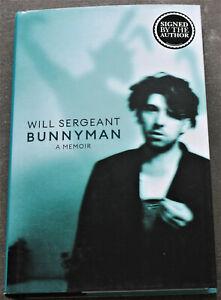 Will Sergeant Echo and the Bunnymen A Memoir SIGNED Book Autogramm signiert