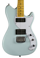 G&L Tribute Fallout Solidbody Electric Guitar Maple FIngerboard Sonic Blue