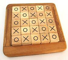 Tic Tac Toe Piraten magnetisch Ludo Brettspiel Kinder Holz Gesellschaftsspiel Gesellschaftsspiele