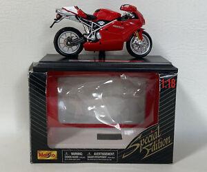 Ducati 999s  Motorbike Model  Maisto 1:18 Scale Special Edition