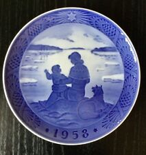 Royal Coppenhagen Christmas Plate 1958 Sol Over Grønland